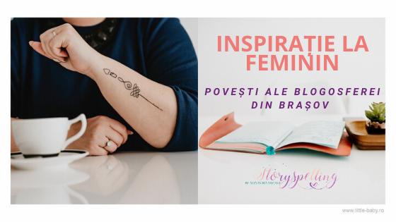 Inspirație la Feminin - blogger Brașov
